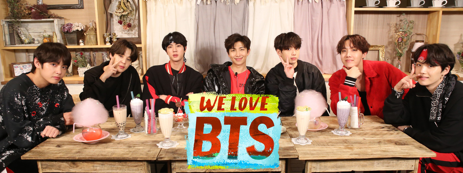 We Love BTS画像