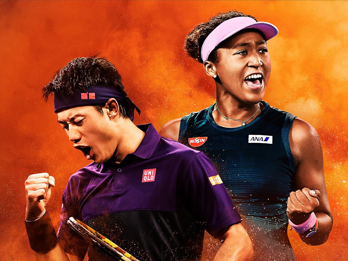 2019年全仏オープンテニス画像